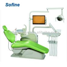 La venta caliente montó la silla dental de la silla de la unidad con el CE ISO La silla de la unidad dental