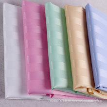 Streifen Wasserdichte Polyester Duschvorhang aus China (DPF2464)