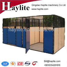 EPE board hot dip galvanized horse stable with PVC fabric