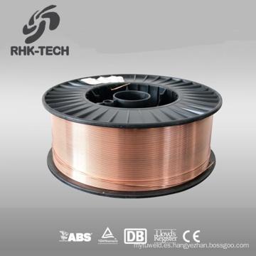 precio de alambre de soldadura de alta resistencia a la tensión de acero recubierto de cobre ER70S-6