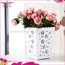Wholesale waterproof wooden garden flower pot