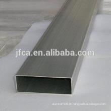 Tubo quadrado de alumínio sem costura para decoração 7075