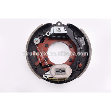 """drum brake -12.25""""x3-3/8'' electric drum brake with adjuster cable for trailer(5bolt holes ) with dust shield"""