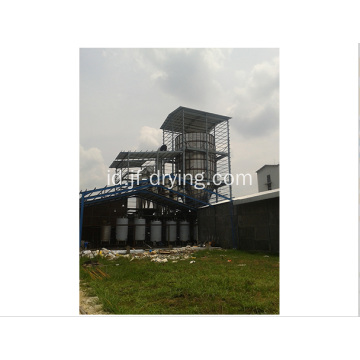 Nozzle pressure spray dryer / drying machine