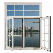 Low price hot sale automatic aluminum modern casement window grill design