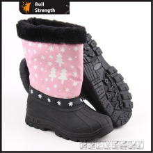 Women Winter Boots with PU Upper and PVC Sole (SN5230)