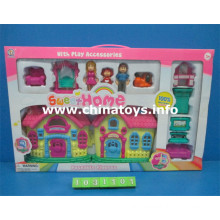 Children Toys Plastic Doll House Toys (1031101)
