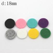 18мм круглые цветные хлопковые прокладки из синтетического эфирного масла