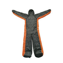 Outdoor Camping Human Wearable Sleeping Bag Suit