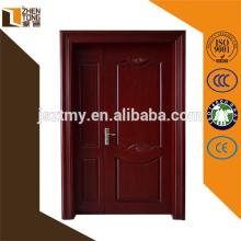 modern style double panels wooden door