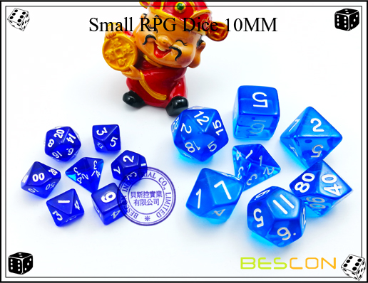 Small RPG Dice 10MM-2