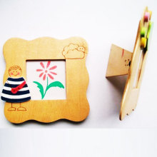 cute cloth shape soft pvc photo frame