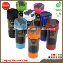 600ml Shaker Flasche mit Pille Container (SB6001)