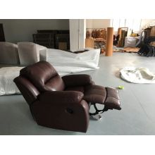 Oscuro rojo moderno del recliner en muebles de salón (723)