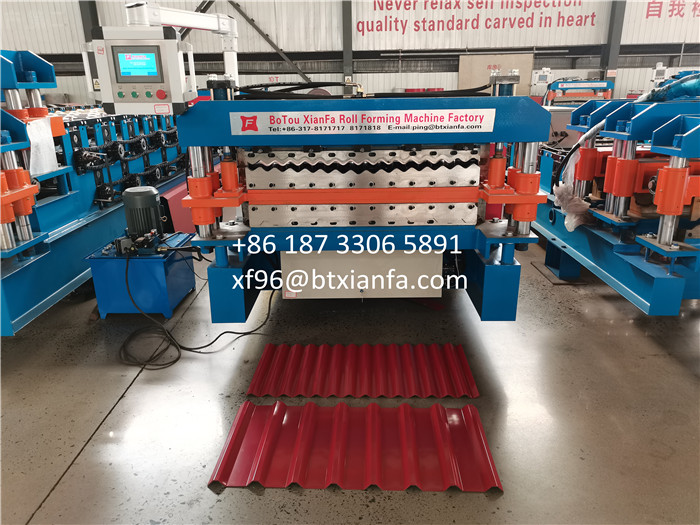 Roll Forming Machine For Mexico
