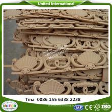 sculpture sur bois moulure de fleurs décoration murale moulure