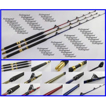 GMR001 power solid epoxy roller guides game trolling fishing pole rod