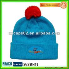 Chapéu de gorro personalizado com logotipo para promoção de inverno BN-2650