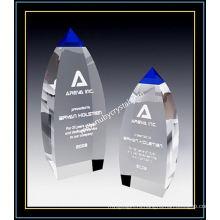 Синий Кристалл награда вершину башни для плеер 9 дюймов в высоту