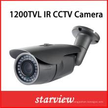 1200tvl IR fixe à l'extérieur CCTV Balle caméra de sécurité (W14)
