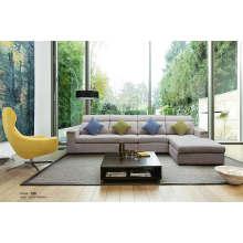 Sofá secional moderno, sofá da tela de sala de estar (188)