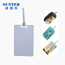 China Blank Printable Sublimation MDF Luggage Tags (95*60mm)