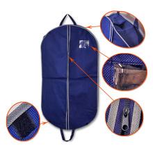Dobrável barato extravagante personalizado do curso acolchoado com o bolso nenhuns sacos de vestuário feitos sob encomenda mínimos por atacado