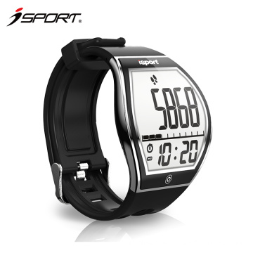 BT 4.0 E-ink display curved screen sleep monitor smart watch for men