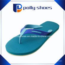 Nova marca azul Flip Flop Mens Thong Casual Slipper