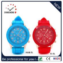 Geneva Flower Watch, reloj de vestir de mujer, relojes de cuarzo (DC-243)