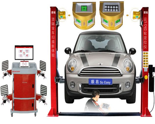 5D Wheel Alignment Machine Picture