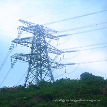 Torre de celosía de doble circuito de 500 kv