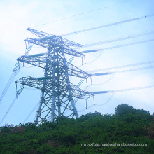 500kv Double Circuit Lattice Tower