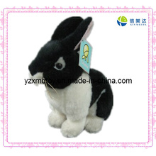 Sweet Plush Toy Black Rabbit Toy