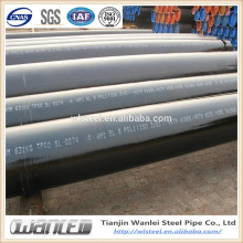 4 inch carbon seamless black steel pipe