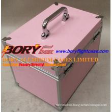 Aluminum Medium Hard Tool Box Case Designer Makeup Bags