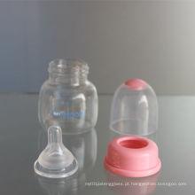 2oz 60ml PP bebê alimentador e vidro bebê garrafa