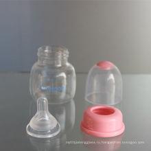 2 унции 60 мл PP Baby Feeder и стеклянная бутылочка для новорожденных