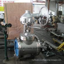 Червячные запорные клапаны с литой стальной линией