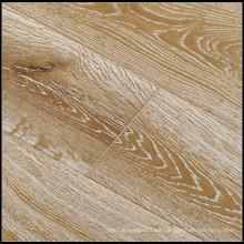 E0 Ahumado y cepillado blanco Oiled Engineered Oak Wood Flooring / Hardwood Flooring