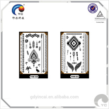 Elegent Lace Sex Design for Lady Sticker Tattoo,temporary body stickers with best price