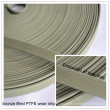 Filled Bronze Wear Strip PTFE Tape