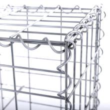 China Exportando a gaiola soldada galvanizada pesadamente de Gabion