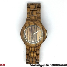 Top-Quality Zebra-Wooden Watches Quartz Watches