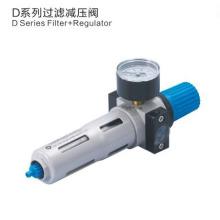 Unités de traitement de la source d'air pneumatiques ESP Série DFR Régulateur de filtre à air