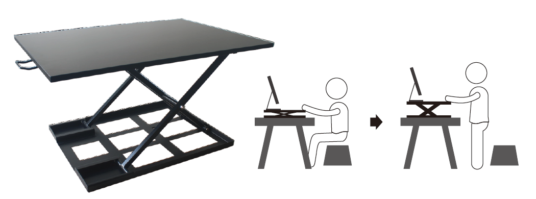 AVRLD01 sit stand desk manual 1