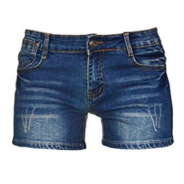 Groothandel Hoge taille Sexy Mini Ripped Shorts