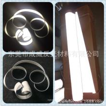 hivisibility prata cinza ecológico reflexivo tecido poylester
