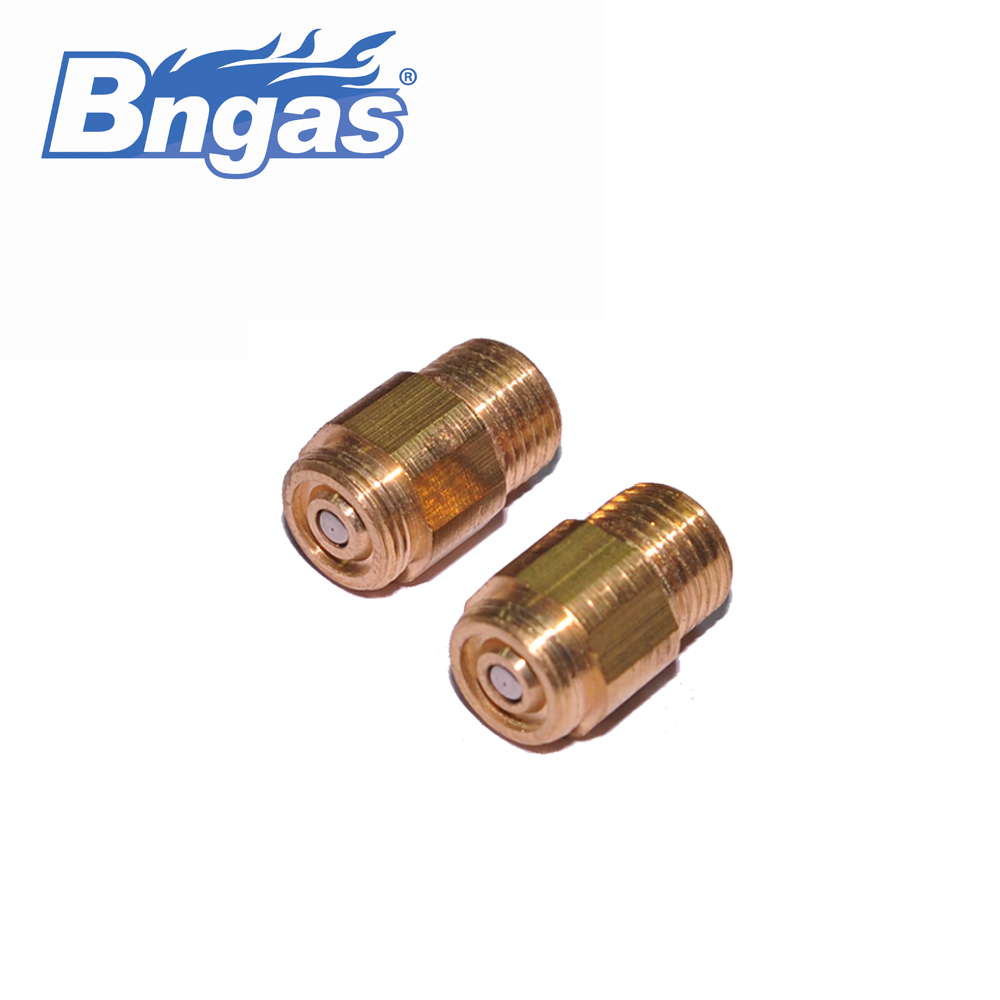 Brass nozzles for hoses