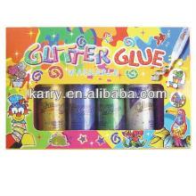 Colle de paillettes d'OEM 120ml / ensemble de peinture de bricolage / cadeau
